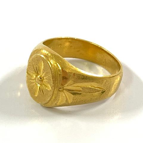 22金 指輪