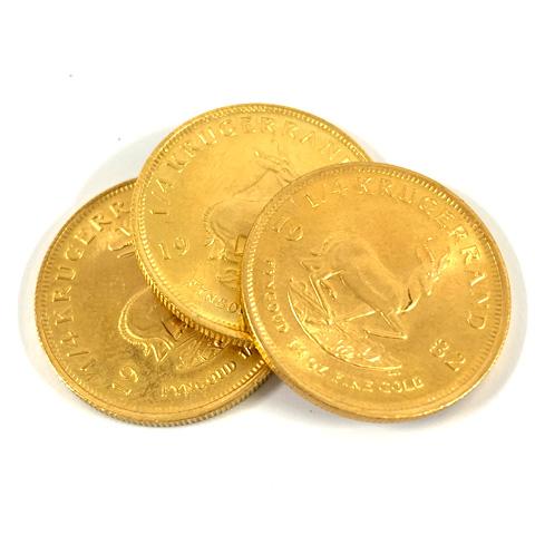 22金 クルーガーランド金貨
