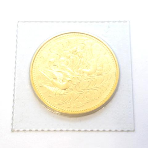 昭和天皇御在位60年記念100000円金貨