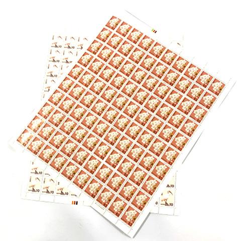 普通切手シート 63円 10円