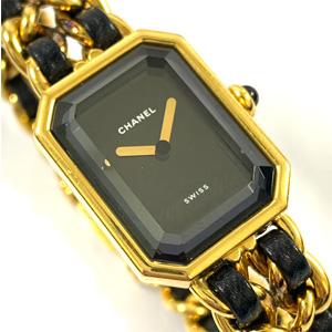 シャネル 腕時計 プルミエール Lサイズ ゴールド