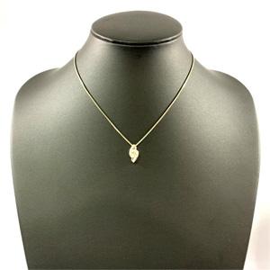 Pt900 一粒ダイヤモンド 0.67ct プラチナデザインネックレス