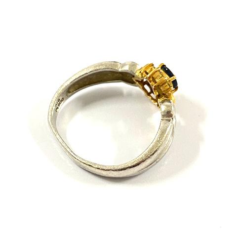 Pt900/K18 歪んでしまった指輪