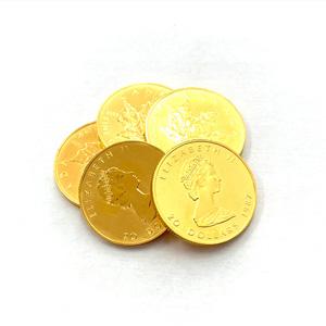 純金 K24 メイプルリーフ金貨
