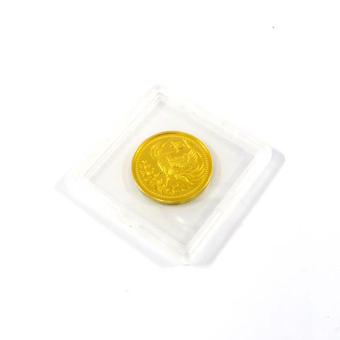 天皇陛下御在位三十年記念 純金 一万円金貨