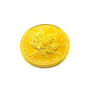 純金 K24 カナダ メイプルリーフ金貨