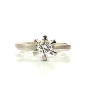 0.2Ct 一粒ダイヤモンド プラチナリング