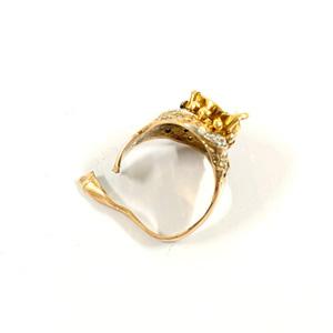 K18 指輪 750 デザインリング