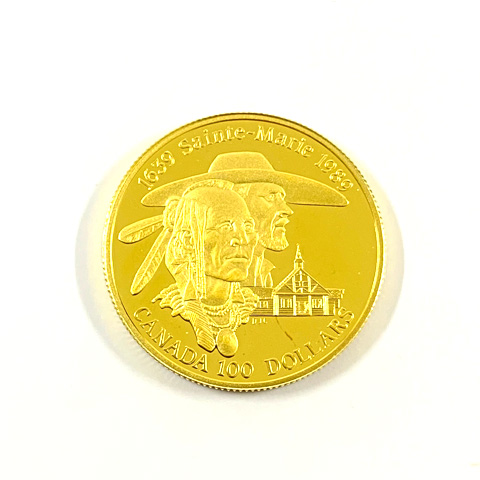K14 カナダ エリザベス金貨