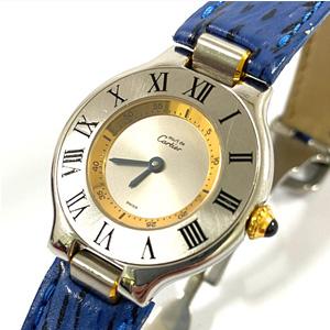 Cartier カルティエ マスト 腕時計