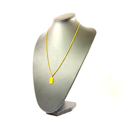 K18 K24 インゴット デザインネックレス
