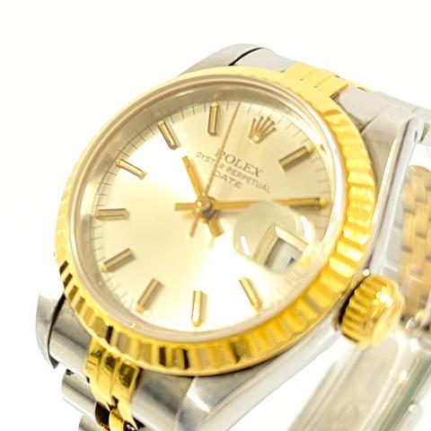 ROLEX ロレックス レディース腕時計 オイスターパーペチュアル コンビ