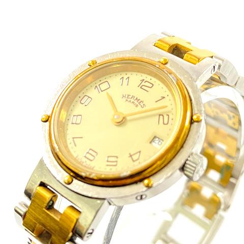 HERMES エルメス レディース 腕時計 クリッパー