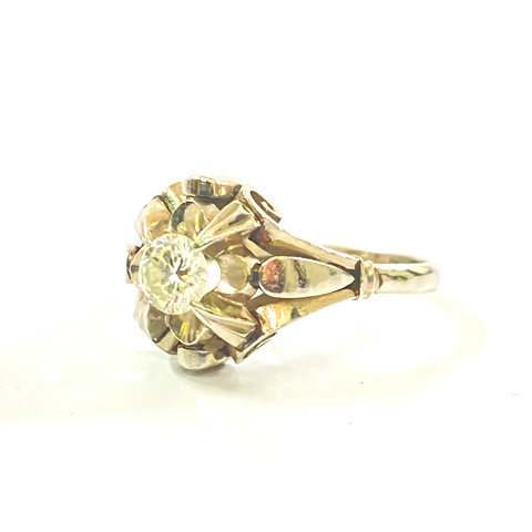 Pt900 プラチナ ダイヤモンド デザインリング