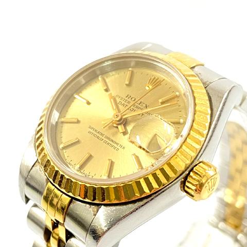 ROLEX ロレックス レディース腕時計 デイトジャスト K18 コンビ