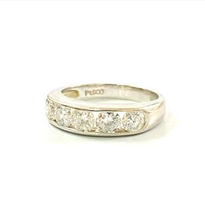 Pt900 プラチナ 900 ダイヤモンド デザインリング