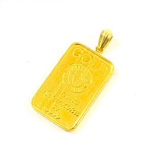 純金 K24 インゴットバー ミニバー