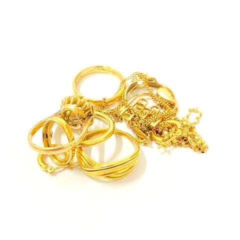 K18 750 指輪 ネックレス 貴金属まとめ