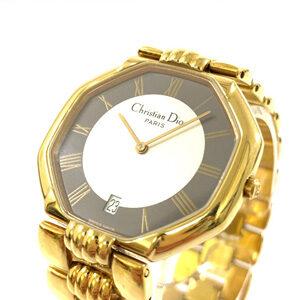 Dior クリスチャンディオール レディース腕時計 ヴィンテージ Qz