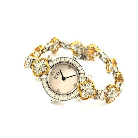 K18WG/K18YG/Pt900 ゴールド プラチナ CISEY チセー レディース腕時計