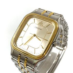 SEIKO セイコー CREDOR クレドール 腕時計 Qz SS 18K