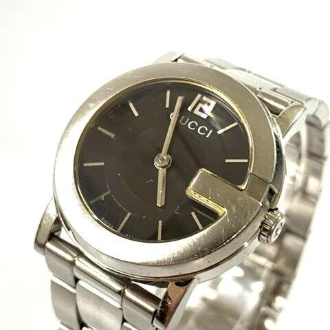 GUCCI グッチ レディース腕時計 gucci ブランド時計 101L Qz SS